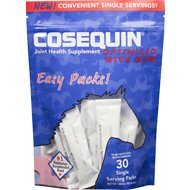 Nutramax Cosequin Easy Packs Optimized MSM Joint Health Horse Supplement, 30 count