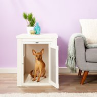 New Age Pet ecoFLEX Crate & End Table, Medium, Antique White