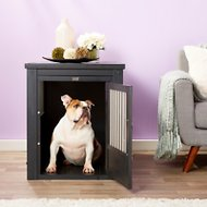 New Age Pet ecoFLEX Crate & End Table, Espresso, Large
