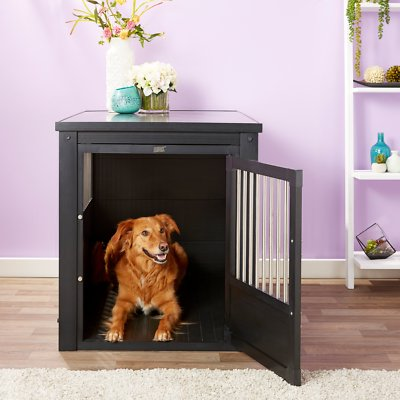 New Age Pet ecoFLEX Single Door Furniture Style Dog Crate & End Table