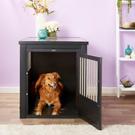New Age Pet ecoFLEX Crate & End Table, X-Large, Espresso