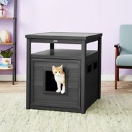New Age Pet ecoFLEX Litter Loo & End Table, Espresso, Jumbo