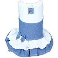 Parisian Pet Denim Spring Dog Dress, X-Small