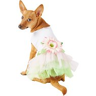 Parisian Pet Sunflower Dog Dress, Medium