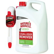 Nature's Miracle Dog Stain & Odor Remover Accushot Spray,1.3-gal bottle