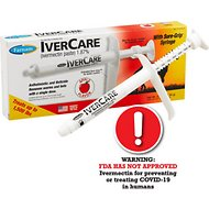 Farnam Ivercare Horse Paste, Apple Flavor, .26-oz syringe