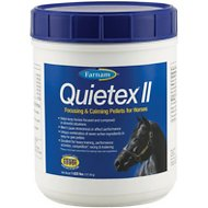Farnam Quietex Horse Focusing and Calming, 1.62-lb tub
