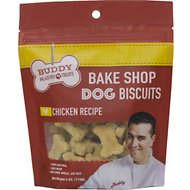 Buddy Valastro Pets Bake Shop Chicken Recipe Biscuits Dog Treats, 4-oz bag