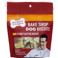 Buddy Valastro Pets Bake Shop Peanut Butter Recipe Biscuits Dog Treats, 4-oz bag