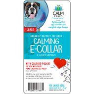 Calm Paws Calming Dog E-Collar, Large