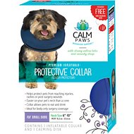 Calm Paws Inflatable Protective Dog & Cat Collar, Small