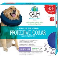 Calm Paws Inflatable Protective Dog & Cat Collar, Large