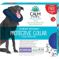 Calm Paws Inflatable Protective Dog & Cat Collar, X-Large