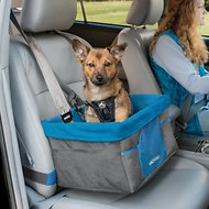 Kurgo Heather Dog Booster Seat, Charcoal
