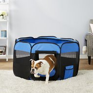 Petmaker Pop-Up Pet Playpen, Blue