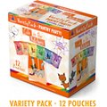 Weruva Cats in the Kitchen Variety Pack Grain-Free Cat Food Pouches, 3-oz, case of 12