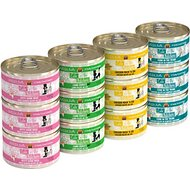 Weruva Cats in the Kitchen Cuties Variety Pack Grain-Free Canned Cat Food, 3.2-oz, case of 12