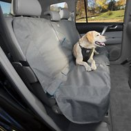 Kurgo Heather Dog Bench Seat Cover, Charcoal