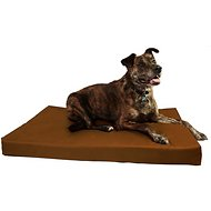 Big Barker Orthopedic Waterproof and Tear Resistant Pillow Top Dog Crate Pad, Large