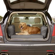 Big Barker Backseat Barker SUV Edition Orthopedic Dog Bed, Gray, X-Large