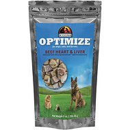 Wysong Optimize Beef Heart & Liver Dog, Cat & Ferret Food Topper, 9-oz bag