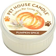 One Fur All Pumpkin Spice Pet House Soy Candle, 1.5-oz jar