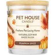 One Fur All Pumpkin Spice Pet House Natural Soy Candle, 8.5-oz jar