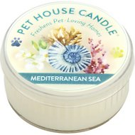 Pet House Mediterranean Sea Natural Soy Candle, 1.5-oz jar