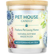 One Fur All Mediterranean Sea Pet House Natural Soy Candle, 8.5-oz jar