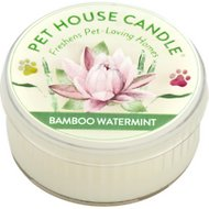 One Fur All Bamboo Watermint Pet House Natural Soy Candle, 1.5-oz jar