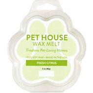 Pet House Fresh Citrus Natural Soy Wax Melt, 3-oz