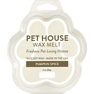 One Fur All Pumpkin Spice Pet House Soy Wax Melt, 3-oz