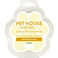 One Fur All Mandarin Sage Pet House Soy Wax Melt, 3-oz