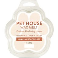 One Fur All Vanilla Creme Brulee Pet House Soy Wax Melt, 3-oz