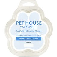One Fur All Sunwashed Cotton Pet House Soy Wax Melt, 3-oz