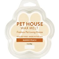 One Fur All Mango Peach Pet House Soy Wax Melt, 3-oz