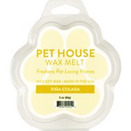 One Fur All Pina Colada Pet House Soy Wax Melt, 3-oz