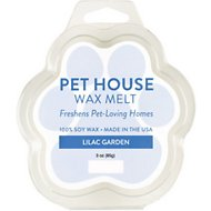 One Fur All Lilac Garden Pet House Soy Wax Melt, 3-oz