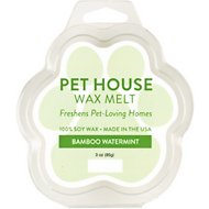 One Fur All Bamboo Watermint Pet House Soy Wax Melt, 3-oz