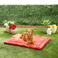 Kurgo Loft Wander Dog Bed, Chili Red, Large