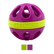 Kurgo Wapple Ball Dog Toy, Just Violet