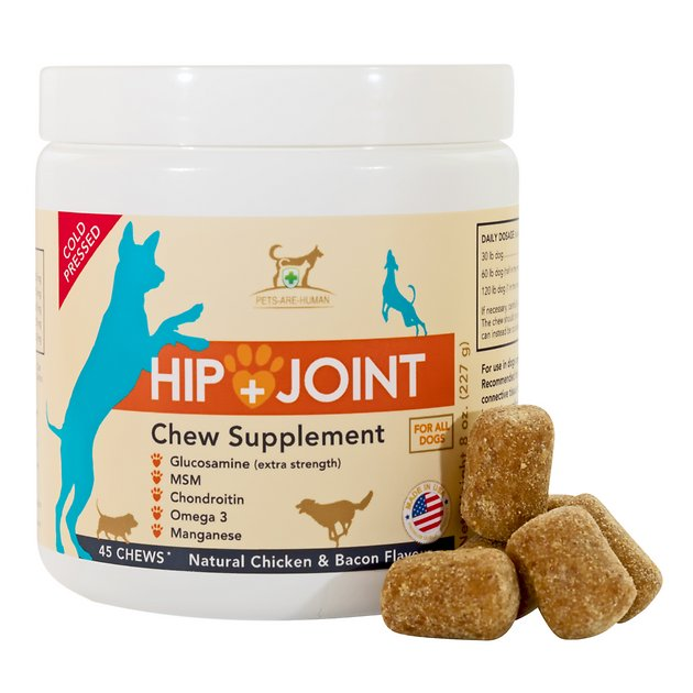 Pets are human hip and joint glucosamine dog chew for Fish oil joint pain
