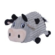 Outward Hound Fattiez Cow Dog Toy