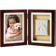 Pearhead Pawprints Dog & Cat Desk Frame, 4 x 6 inches