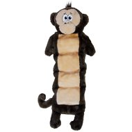 Outward Hound Invincibles Squeaker Palz Monkey Plush Dog Toy