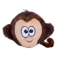 Outward Hound Tosserz Squeaking Monkey Dog Toy