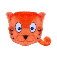 Outward Hound Tosserz Squeaking Tiger Dog Toy