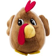 Outward Hound Fattiez Chicken Dog Toy