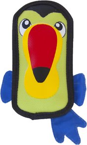 Outward Hound Fire Biterz Durable Real Fire Hose Material Dog Toy Squeakers