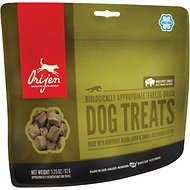 Orijen Free Range Kentucky Bison, Liver & Tripe Freeze-Dried Dog Treats, 3.25-oz bag